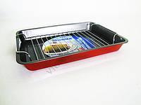 Сковорода AMY 24 см. синяя с тефлоном