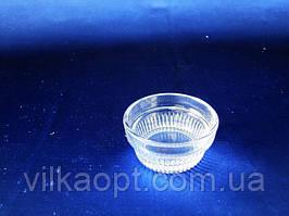 Солонка Колби стеклянная d 6 cm h 2,5 cm