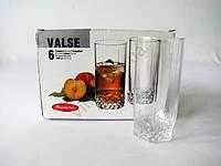 Набор стаканов для коктейля  Вальс  6 х 275 гр.