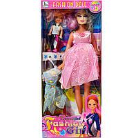 Кукла типа Барби Беременная с ребенком, фото 1