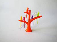 Стойка пластмассовая Дерево  для канапе с птичками