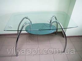 Стол стеклянный  120 х 70
