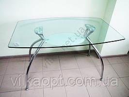 Стол стекло D363
