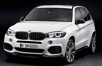 Губа юбка докладка тюнинг обвес BMW X5 F15 M Sport Paket стиль M Performance Parts