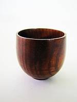 Рюмка деревянная 5*5 см. (50 мл.)