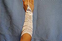 Перчатки белый лукра