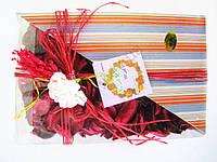 Сувенир с цветком  18 х 12