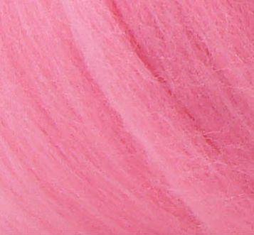 Толстая, крупная пряжа 100% шерсть мериноса. Цвет: Розовый. 21-23 мкрн. Топс.