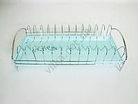 Сушарка нержавіюча для тарілок з піддоном 39 х 18 х 10 див.
