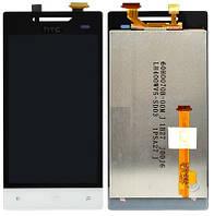 Дисплей для HTC A620e Windows Phone 8S Domino + touchscreen, белый