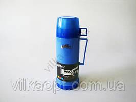 Термос пластмассовый 0,450 л.  (3цв)
