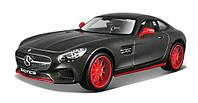 MAISTO Автомодель (1:24) Mercedes - AMG GT серый металлик - тюнинг