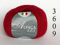 Пряжа Seam Италия Альпака 125, код 3609