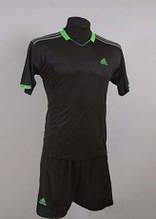 Футбольная форма игровая Adidas Black ( черная )