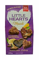 Печенье из мюсли шоколад-банан Little Hearts, 100г