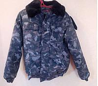 Куртка утепленная камуфлир.Город
