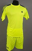 Футбольная форма игровая Adidas ( салатовый )
