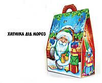 Новогодняя подарочная коробочка 400-500 гр №0008
