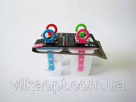 Форма пластмассовая для мороженного из 4-х прямоугольная 8 см.