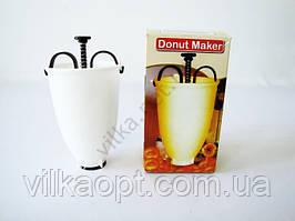 Ёмкость пластмассовая  кондитерская  для пончиков 18 см.