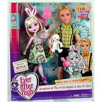 Алистер Вандерленд Банни Бланк свидание Ever After High Carnival Date Bunny Blanc Alistair Wonderland