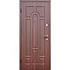 Входные двери DR-27 темный орех(FORZA)