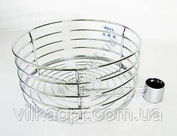 Полка для барной стойки круглая д. 31,5 см. выс. 14 см.