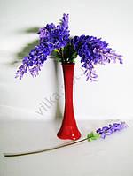 Ветка Глицинии 100 см фиолетовая