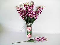 Ветка искусственная Орхидея мелкоцветная 67 см.