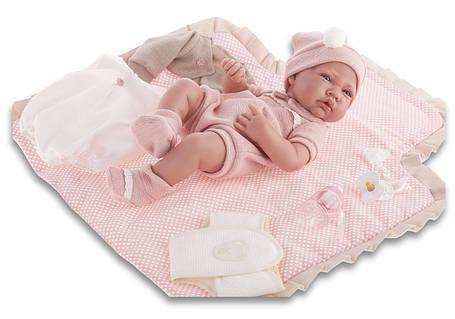 Кукла младенец 42 см Toquilla Nina Antonio Juan 5095, фото 2