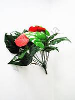 Цветок искусственный в горшок 40 см.