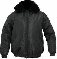 Куртка зимняя Пилот чёрная