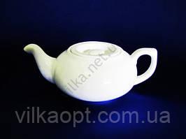 Чайник керамический  белый 500 мл.