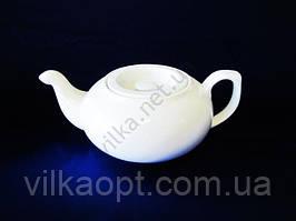 Чайник керамический  белый 720 мл.