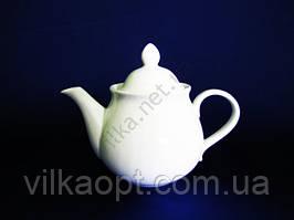 Чайник керамический  белый  800 мл.