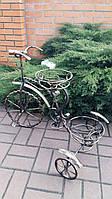 Подвазонник кованый велосипед
