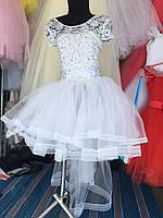"""Бальное платье на 5-7 лет """"Снежинка/20"""""""