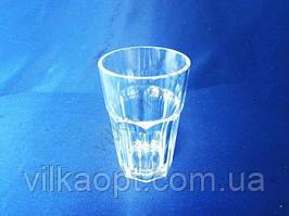 Стакан пластмассовый прозрачный диам. 7 см. х 11,5 см.