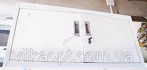 Шкаф металлический антресоль белый 90x45x40 cm.