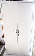 Шкаф металлический архивный белый