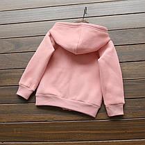 Кофта для девочки розовая Milk, фото 2