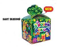 Новогодняя подарочная коробочка 400-600 гр №0011