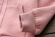 Кофта для девочки розовая Milk, фото 3