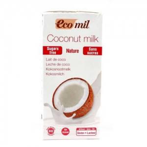 Кокосовое молоко без сахара Eco Mil, 1л