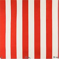 Ткань для штор красная полоса