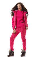 Костюм зимний тройка,женский теплый, куртка, штаны ,кофта S M L
