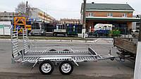 Прицеп для транспортировки багги 3,2м х 1,8м. Цинк! Без тормозов.