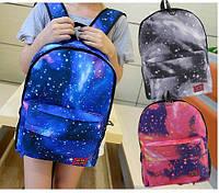 Яркий рюкзак  галактика космос