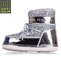 Женские Snow Boots Chiara Ferragni Silver