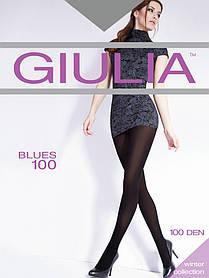 Колготи жіночі з мікрофібри GIULIA Blues 3D 100 ден